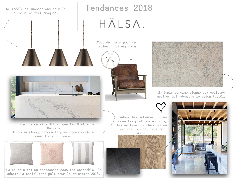 Des conseils de designers pour une d co tendance en 2018 for Magazine tendance deco