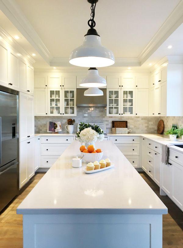 17 cuisines blanches faire r ver magazine la pi ce - Gonthier cuisine et salle de bain ...