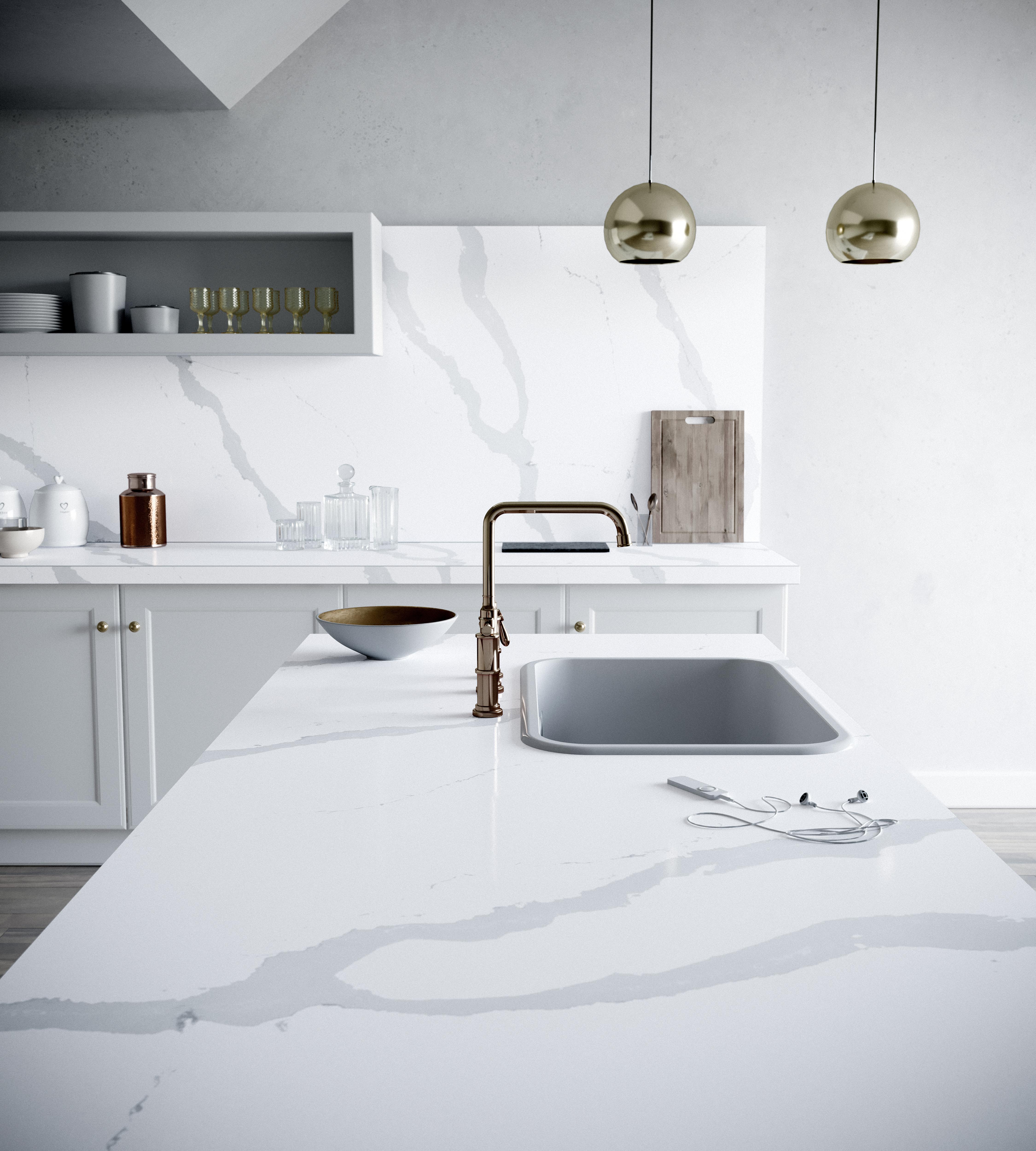 Comment Installer Un Comptoir De Cuisine guide comptoirs cuisine : 13 matériaux incontournables