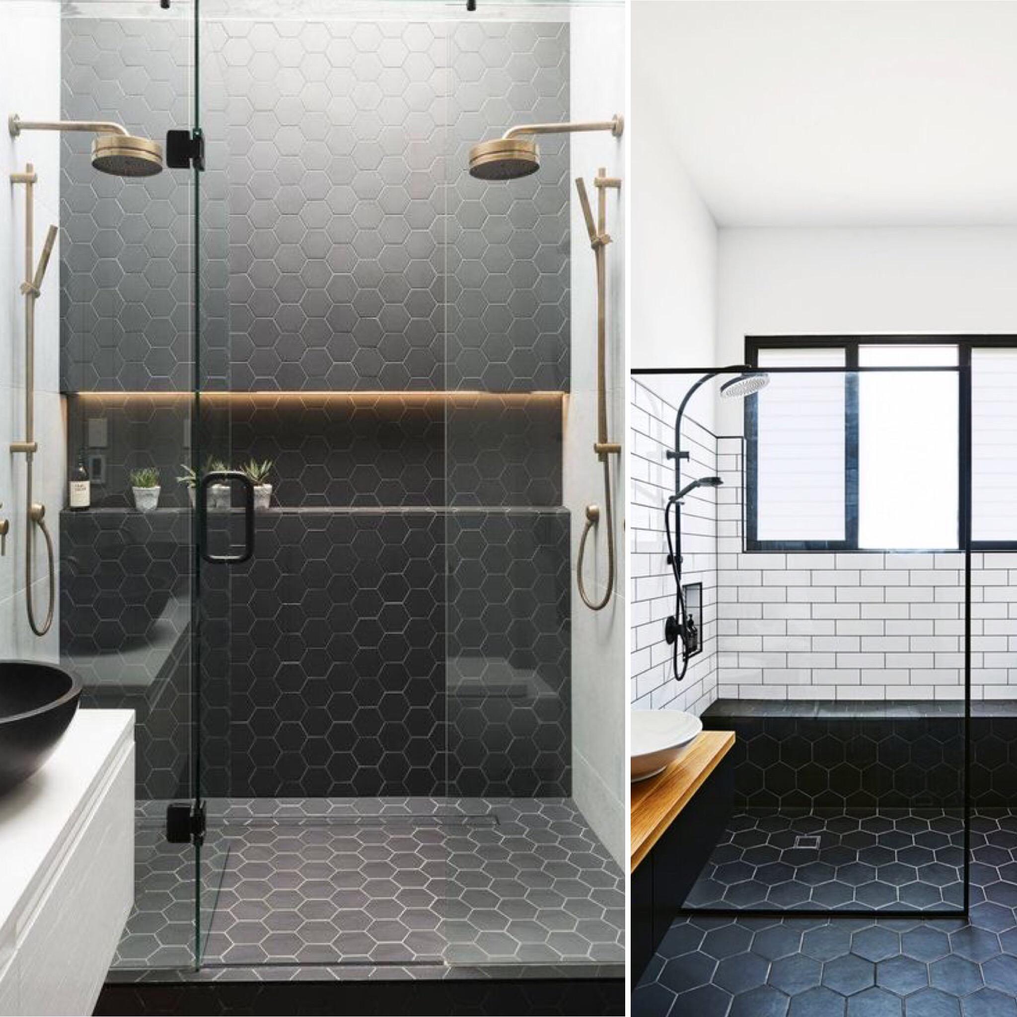 Guide salles de bain 2019 tendances conseils - Tendance couleur salle de bain 2020 ...