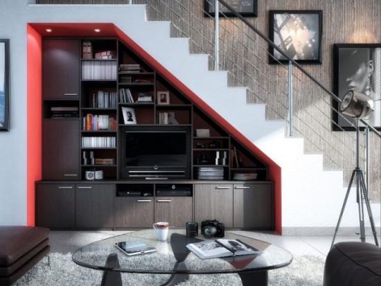 les dessous d 39 escalier et ce qu 39 ils cachent magazine la pi ce. Black Bedroom Furniture Sets. Home Design Ideas